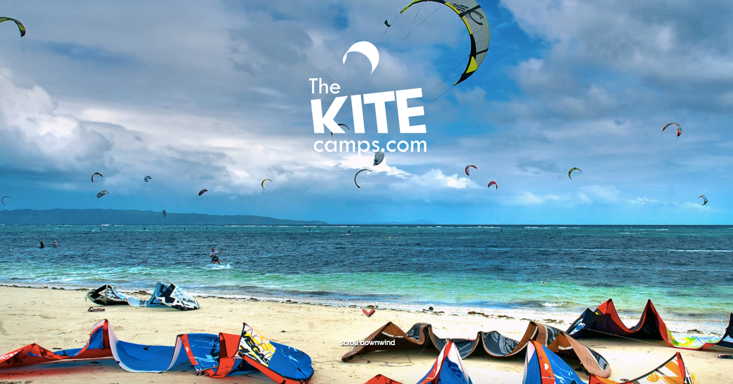 The Kite Camps homepage